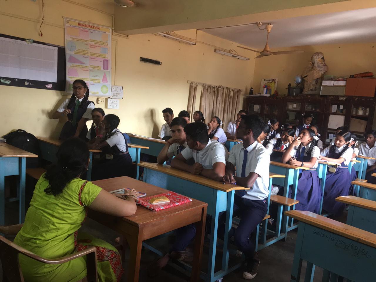 GHS Zuari Nagar Debate