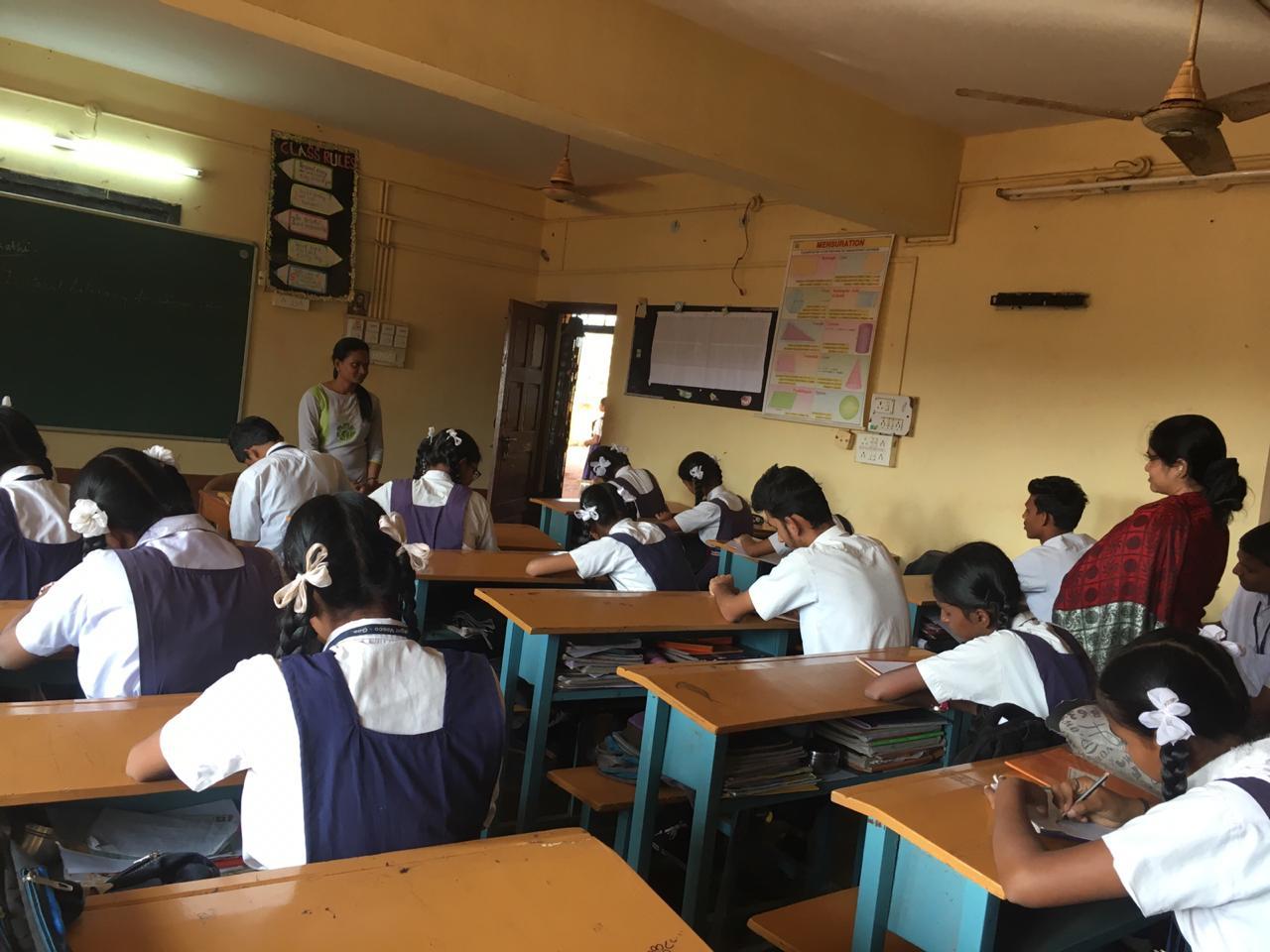 GHS Zuari Nagar  Elocution 1